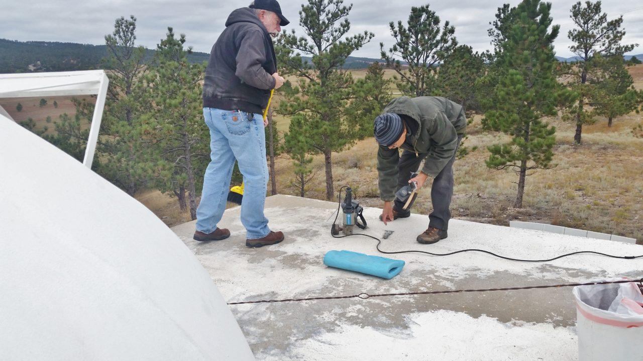 Winterizing the Observatory