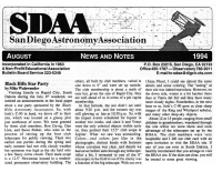 A32 1994 San Diego AA Newsletter