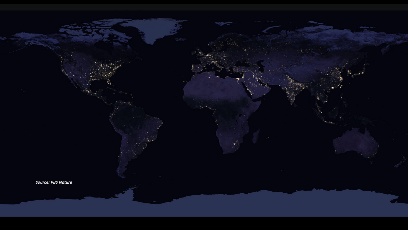 """Light Pollution is """"Increasing Faster Than The Human Population"""""""